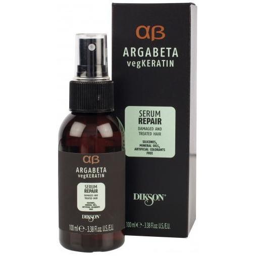 Сыворотка для ослабленных и химически обработанных волос с гидролизированными протеинами риса и сои Serum Repair Dikson
