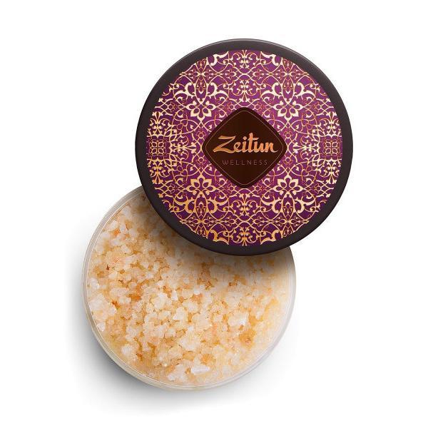 Купить Ароматическая соль для ванн Ритуал соблазна с натуральным афродизиаком и маслом макадамии, Zeitun (Иордания)