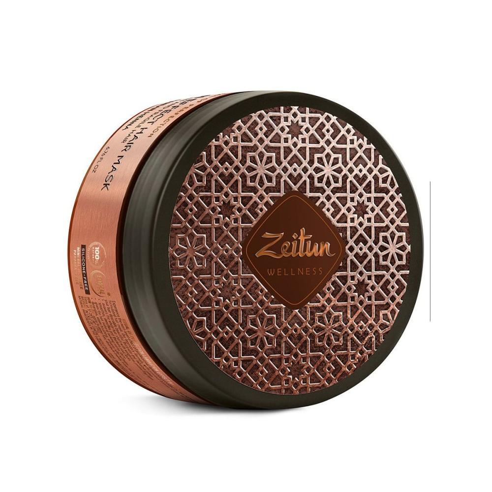 Купить Маска для волос с эффектом ламинирования Ритуал совершенства с иранской хной, Zeitun (Иордания)