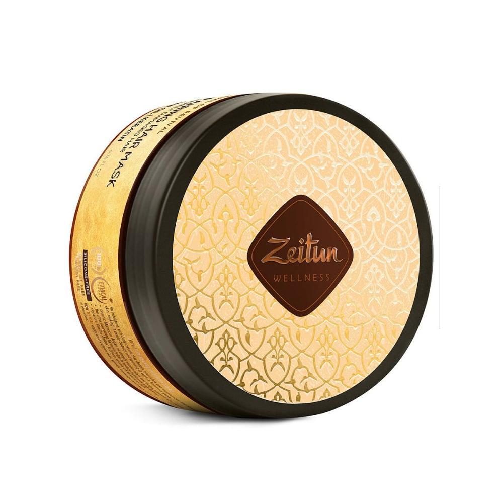 Купить Маска для сильно поврежденных волос Ритуал восстановления с аргановым маслом и кератином, Zeitun (Иордания)
