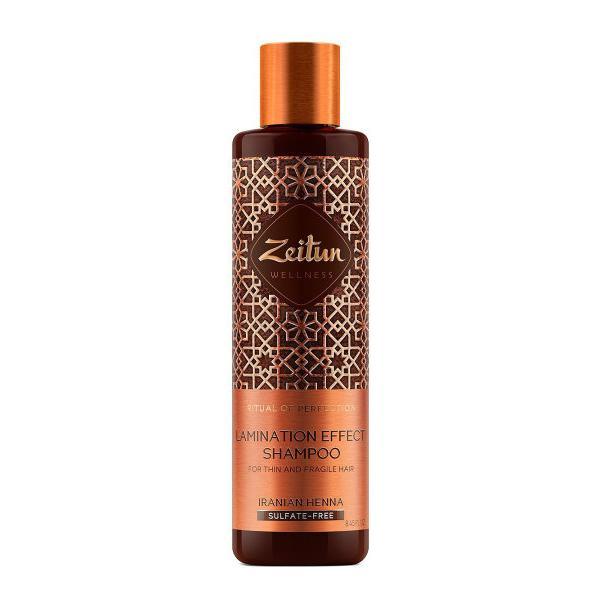 Купить Шампунь для волос с эффектом ламинирования Ритуал совершенства с иранской хной, Zeitun (Иордания)