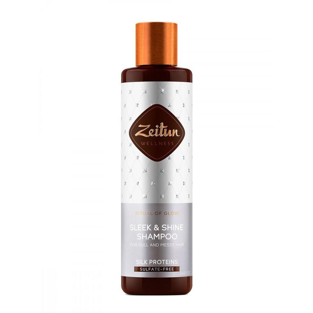 Купить Шампунь для гладкости и блеска волос Ритуал сияния с протеинами шелка, Zeitun (Иордания)