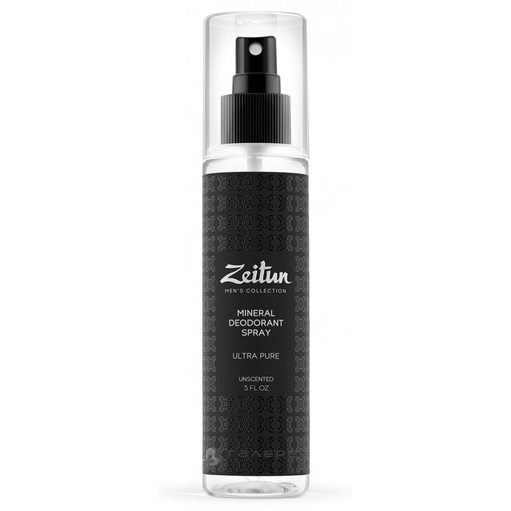 Купить Минеральный дезодорант-антиперспирант для мужчин нейтральный без запаха Ультра чистота, Zeitun (Иордания)