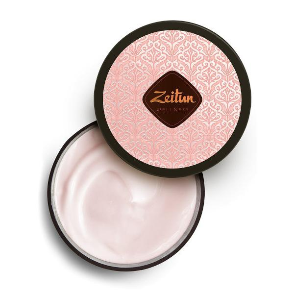 Купить Насыщенный смягчающий крем для тела Ритуал нежности с дамасской розой и маслом персика, Zeitun (Иордания)