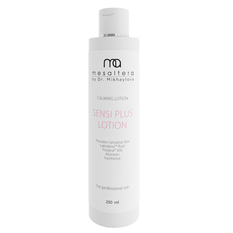Купить Успокаивающий лосьон для чувствительной и раздраженной кожи Sensi Plus Lotion (342542, 400 мл), Mesaltera By Dr. Mikhaylova (Россия)