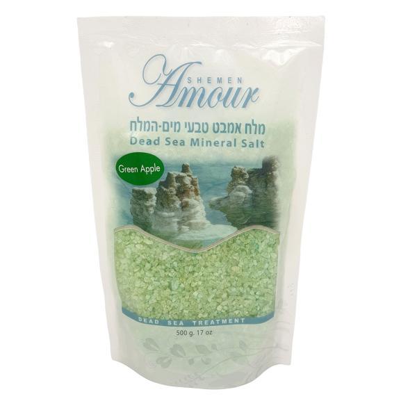 Купить Соль Мертвого моря для ванны Яблоко, Shemen Amour (Израиль)