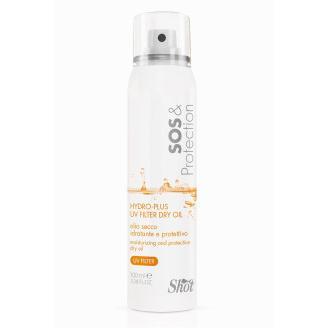 Купить Сухое увлажняющее и защитное масло с УФ-фильтром SOS and Protection, Shot (Италия)