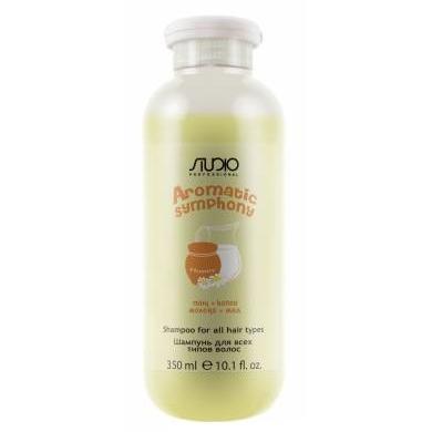 Купить Шампунь для всех типов волос Молоко и мед Aromatic Symphony, Kapous (Россия)