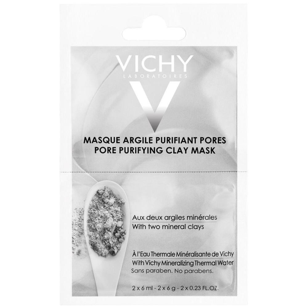Минеральная очищающая поры маска с глиной (M9104800, 75 мл) Vichy