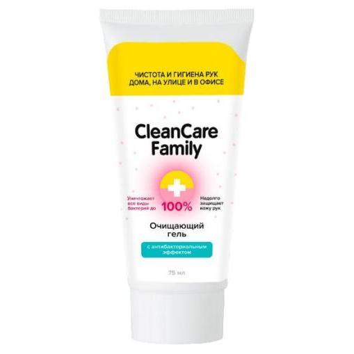Очищающий гель с антибактериальным эффектом CleanCare Family, Gloria (Россия)  - Купить