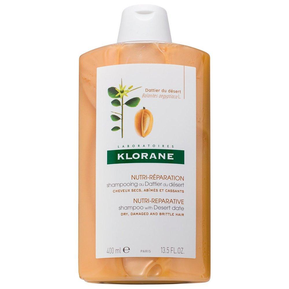 Питательный шампунь с маслом финика пустынного (C57620, 400 мл) Klorane