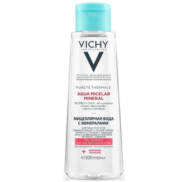 Купить Мицеллярная вода с минералами для чувствительной кожи (MB175300, 100 мл), Vichy (Франция)