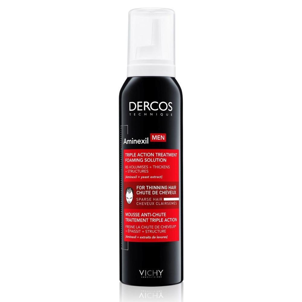Средство против выпадения волос для мужчин в формате пены Аминексил Мен (MB154500, 150 мл) Vichy