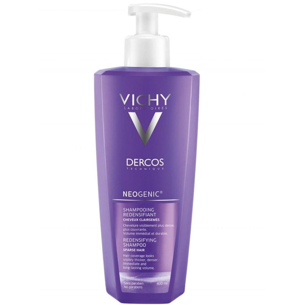Шампунь для повышения густоты волос Неоженик (M0349002, 400 мл) Vichy