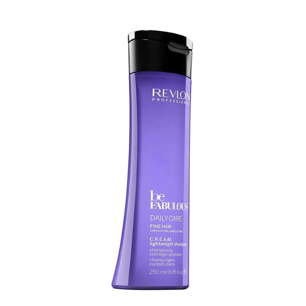 Восстанавливающий шамунь для тонких волос Fine C.R.E.A.M. Cleanser (7222478000/077697, 250 мл) Revlon