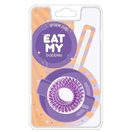Купить Резинки для волос в цвете Eat My (885160, 12, Зеленый, 3 шт), Eat My Bobbles (Корея)