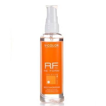 Купить Масло-флюид для поврежденных волос Восстановление (81058, 100 мл), V-Color (Россия)