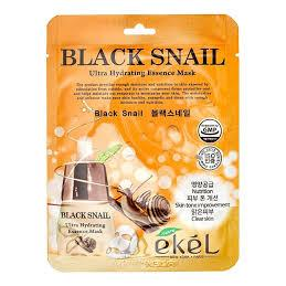 Купить Маска тканевая с муцином черной улитки Ekel, Ekel (Корея)