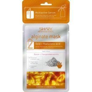 Профессиональная альгинатная маска с сывороткой Сияние и свежесть Shary