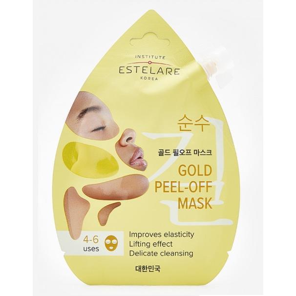 Купить Золотая маска-пленка для лица Контурирующая, Institute Estelare (Корея)