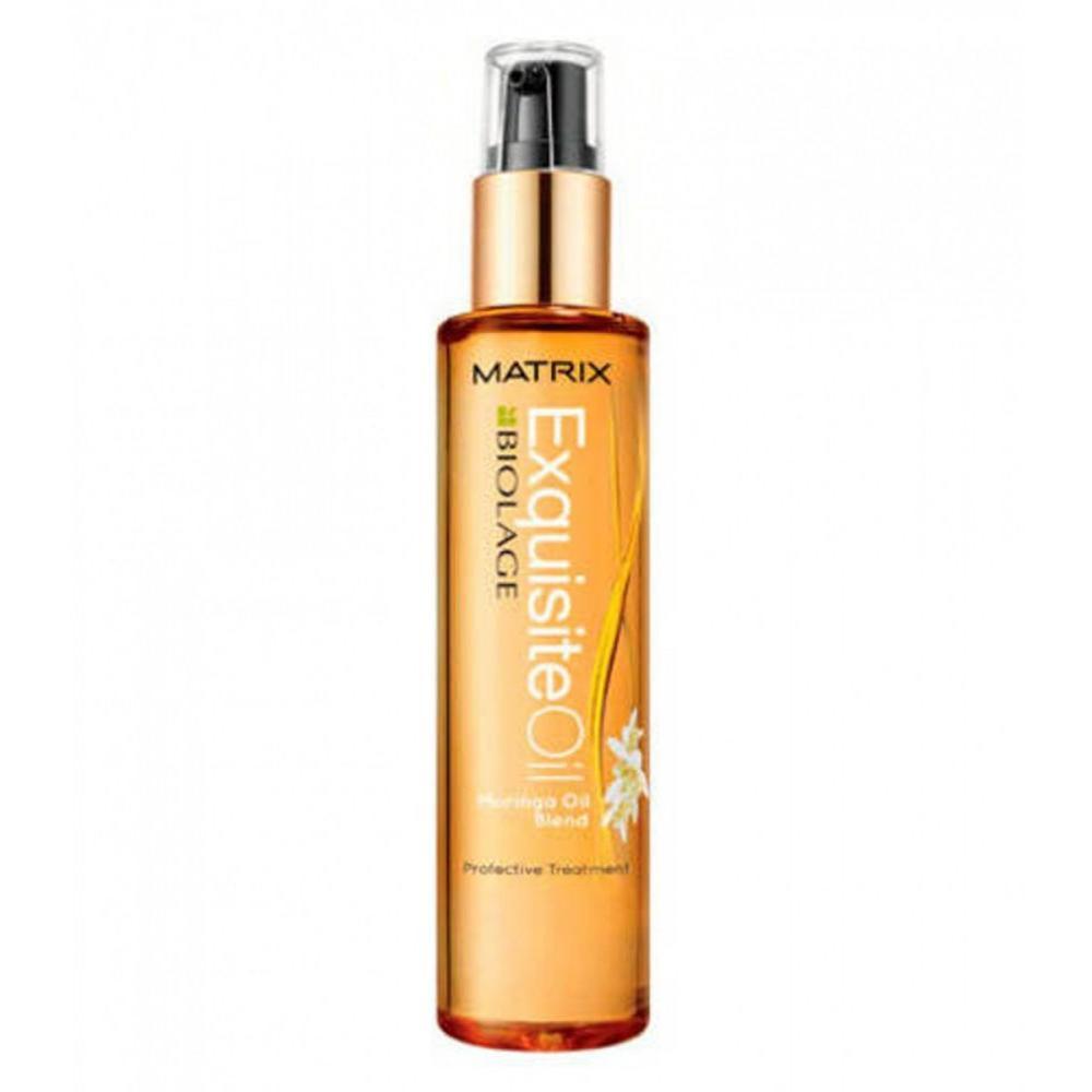 Питающее масло для волос с маслом дерева Моринга Exquisite Oil Biolage