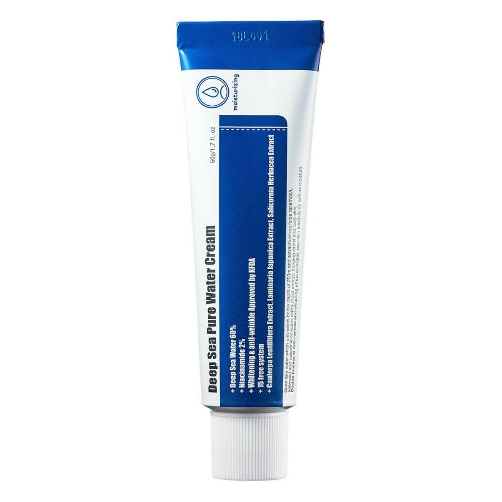 Купить Крем с морской водой для глубокого увлажнения кожи Deep Sea Pure Water Cream, Purito (Корея)