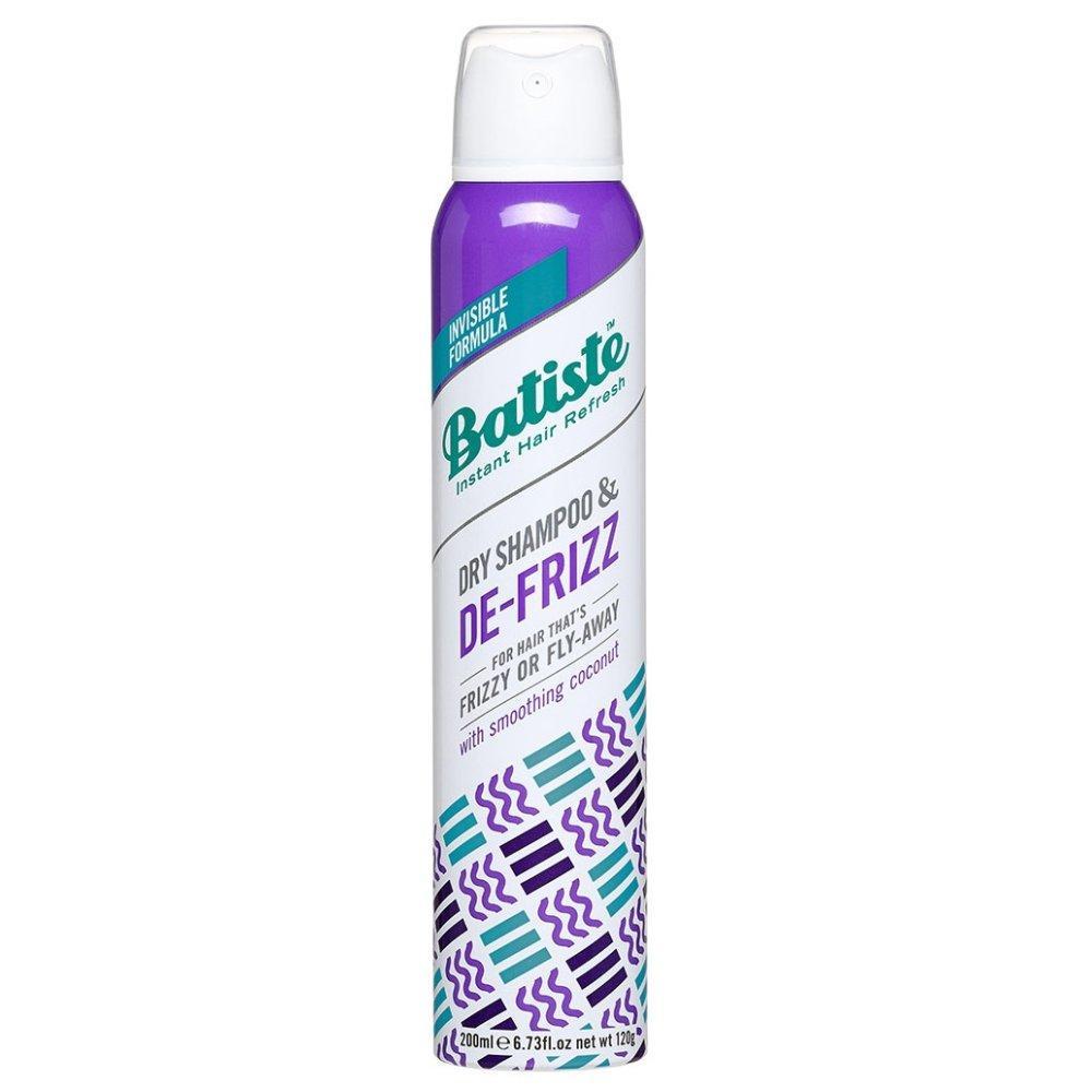 Сухой шампунь для непослушных и вьющихся волос Batiste De-frizz