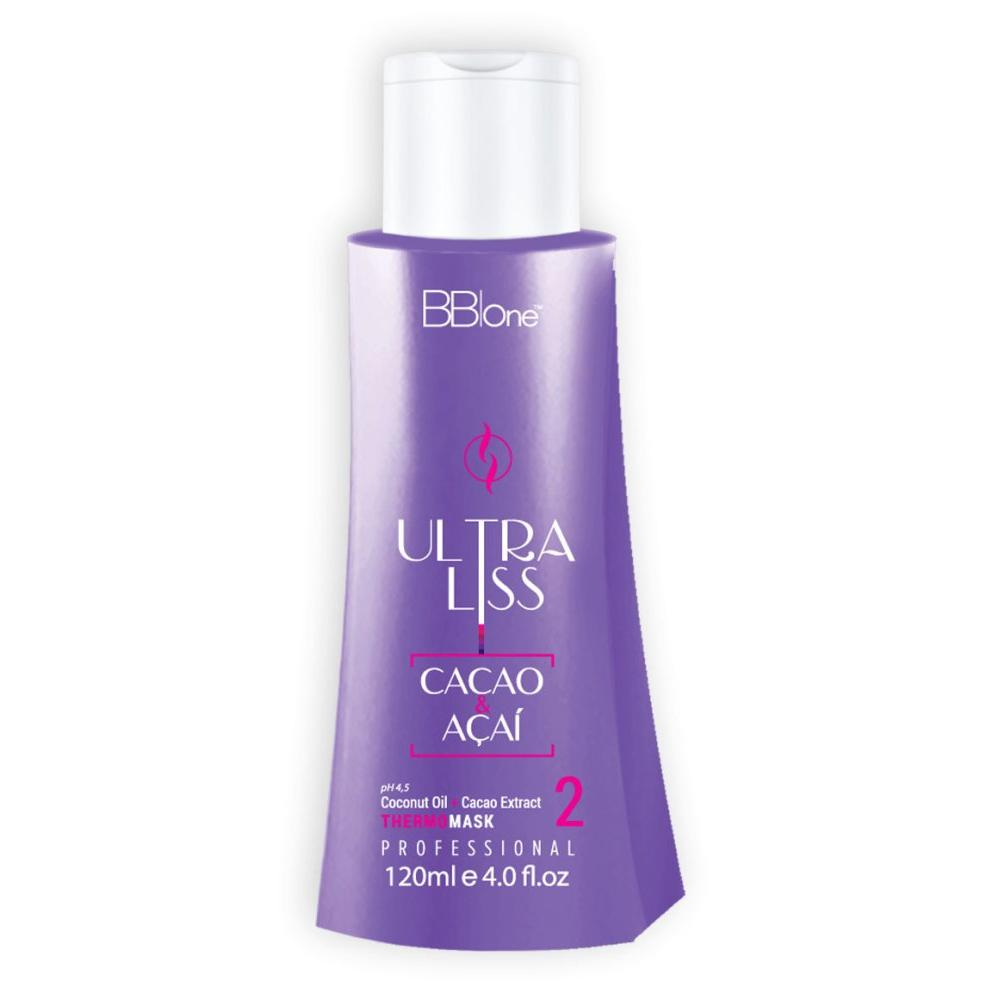 Купить Маска Ультра блеск Ultra Liss Cacao and Acai pH=3, 5 (шаг 3) (BBprof-067, 500 мл), BB-One (Италия)