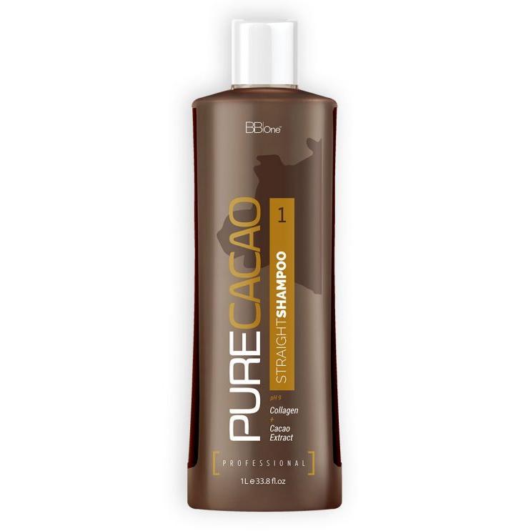 Купить Шампунь Pure Cacao Straight Shampoo (шаг 1) (BBprof-054, 1000 мл), BB-One (Италия)