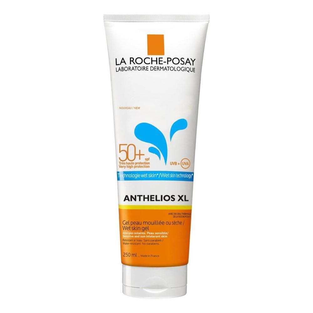 Солнцезащитный гель для лица и тела Anthelios Wet skin SPF 50+ La Roche Posay