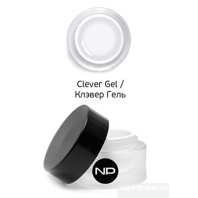 Купить Скульптурный прозрачный гель Clever Gel (000704, 100 мл), Nano professional (Россия)