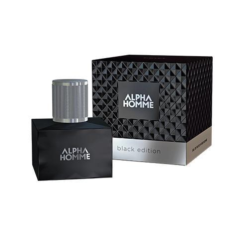 Купить Парфюмерная вода Alpha Homme Black Edition Pour Homme, Estel (Россия)