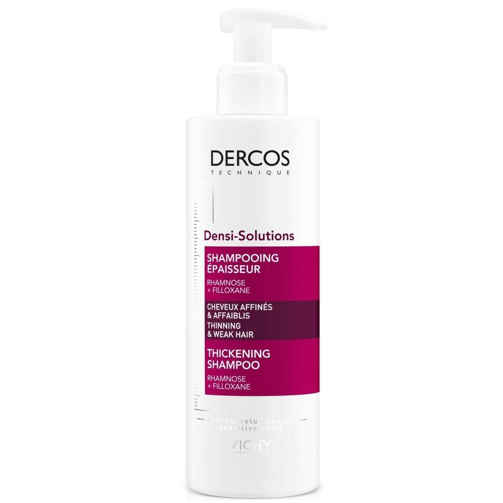 Уплотняющий шампунь для истонченных и ослабленных волос Vichy Dercos Densi-Solutions
