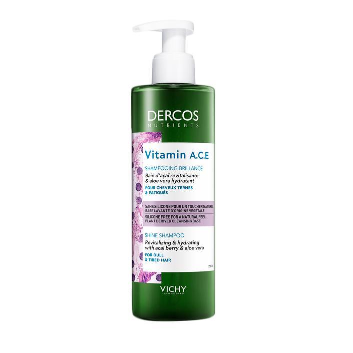 Шампунь для блеска волос Dercos Vitamin Vichy