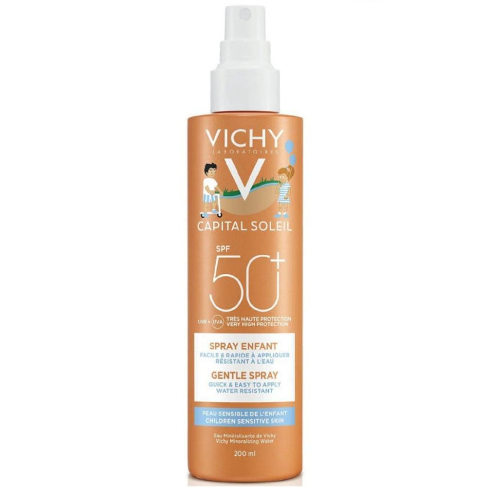 Спрей для детей Capital Ideal Soleil SPF50+ Vichy