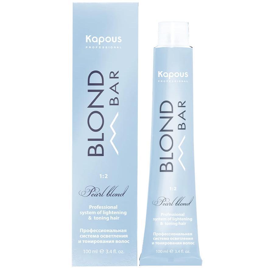 Купить Крем-краска для волос с экстрактом жемчуга Blond Bar (2329, 021, Альпийский снег, 100 мл, Натуральные), Kapous Волосы (Россия)
