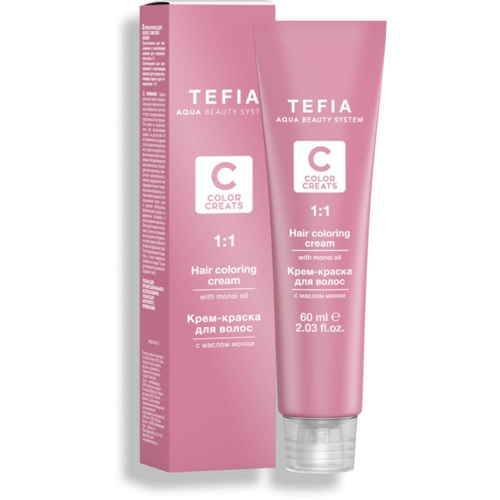 Купить Крем-краска для волос с маслом монои Color Creats (25478, 7.33, Блондин золотистый интенсивный, 60 мл), Tefia (Италия)