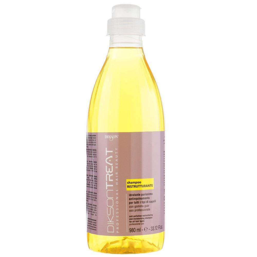 Восстанавливающий и увлажняющий шампунь для всех типов волос Ristrutturante Dikson