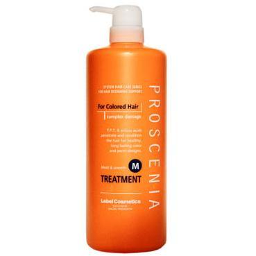 Купить Маска по уходу за прямыми волосами Proscenia Treatment M, Lebel Cosmetics (Япония)