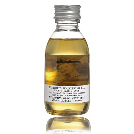 Купить Питательное масло для лица, волос и тела Authentic nourishing oil face/hair/body, Davines (Италия)