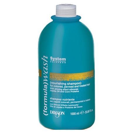 Питательный шампунь для ухода за окрашенными и поврежденными волосами Nourishing Shampoo Dikson