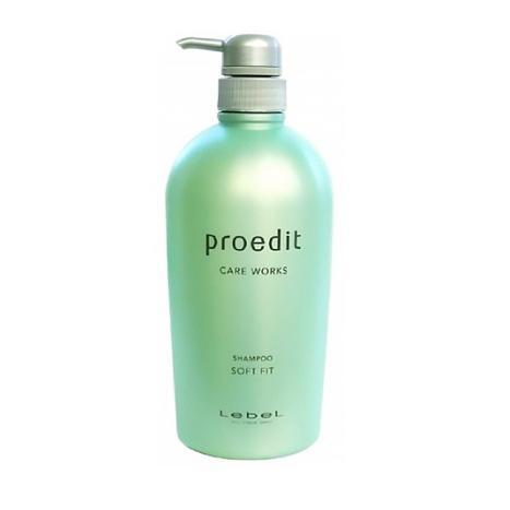 Купить Шампунь для жестких волос Proedit Shampoo Soft Fit, Lebel Cosmetics (Япония)