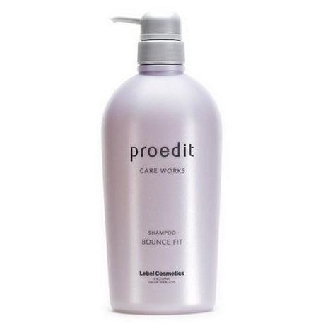 Купить Шампунь для мягких волос Proedit Shampoo Bounce Fit, Lebel Cosmetics (Япония)