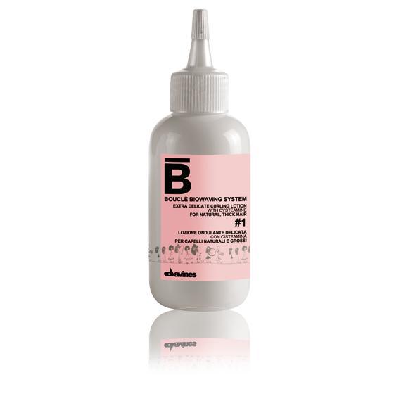 Щадящий лосьон для создания локонов на 2-9 месяцев для нормальных и тонких волос Extra Delicate Curling Lotion № 1