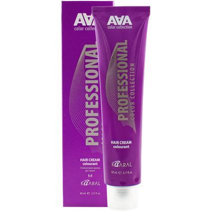 Купить Стойкая крем-краска для волос ААА Hair Cream Colorant (10, 04, очень очень светлый медный блондин, 60 мл, Медный/Золотисто-медный, ААА10.04), Kaaral (Италия)