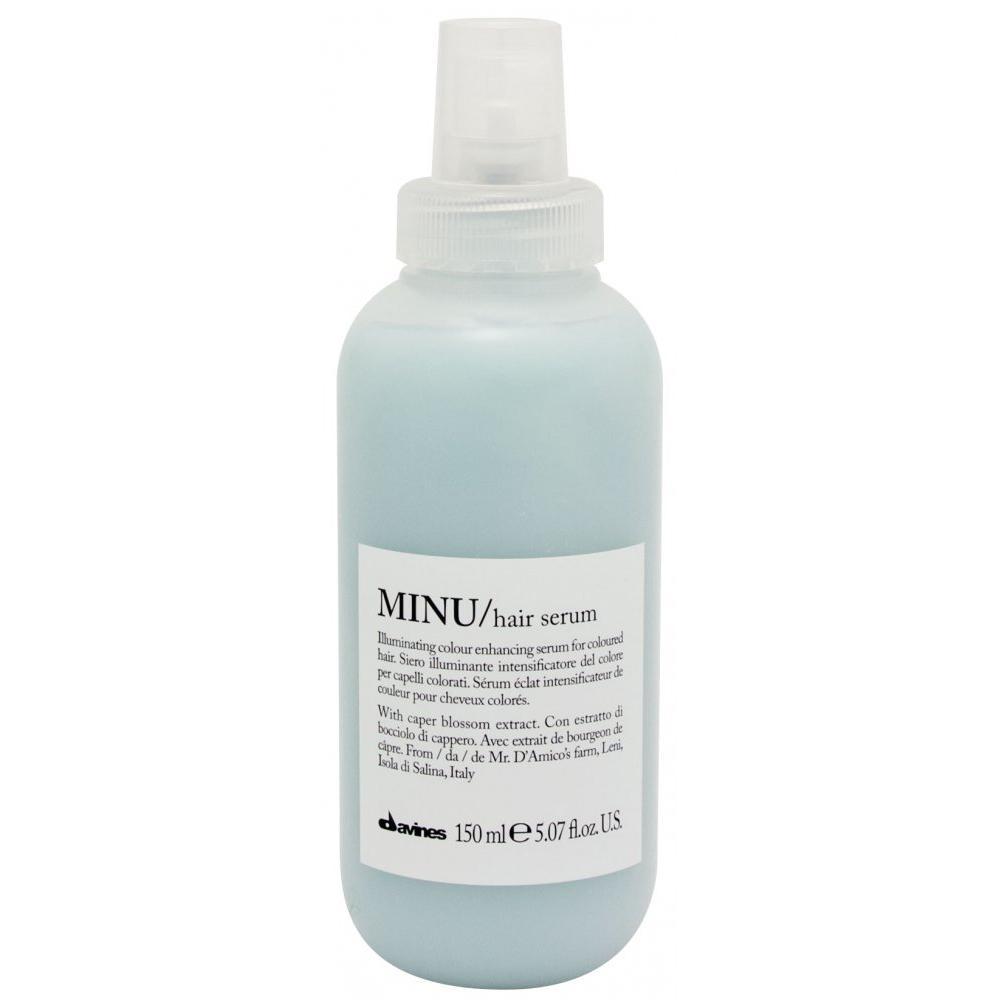 Несмываемая сыворотка для окрашенных волос Minu Hair serum