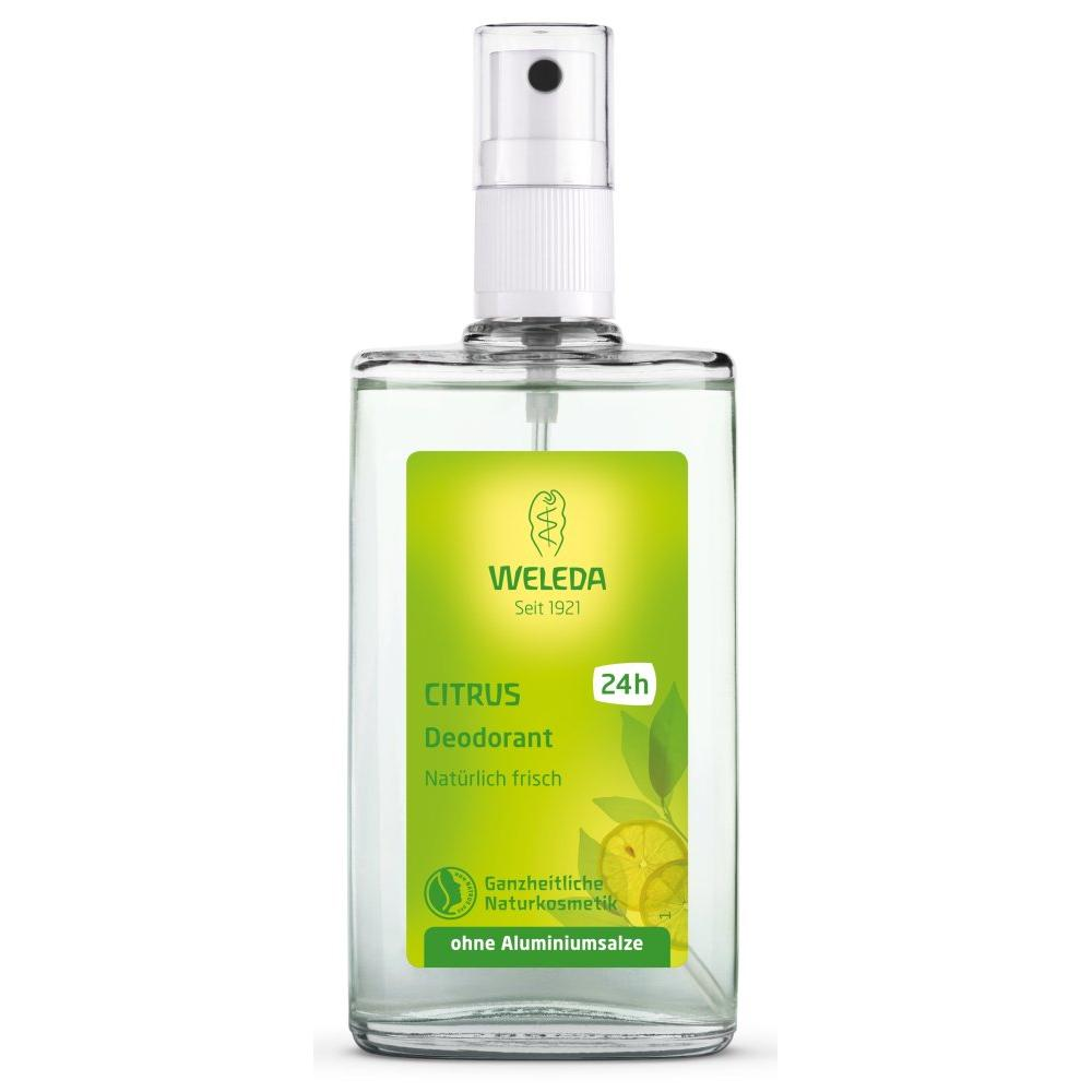 Купить Цитрусовый дезодорант (7516/9707, 100 мл), Weleda (Германия)