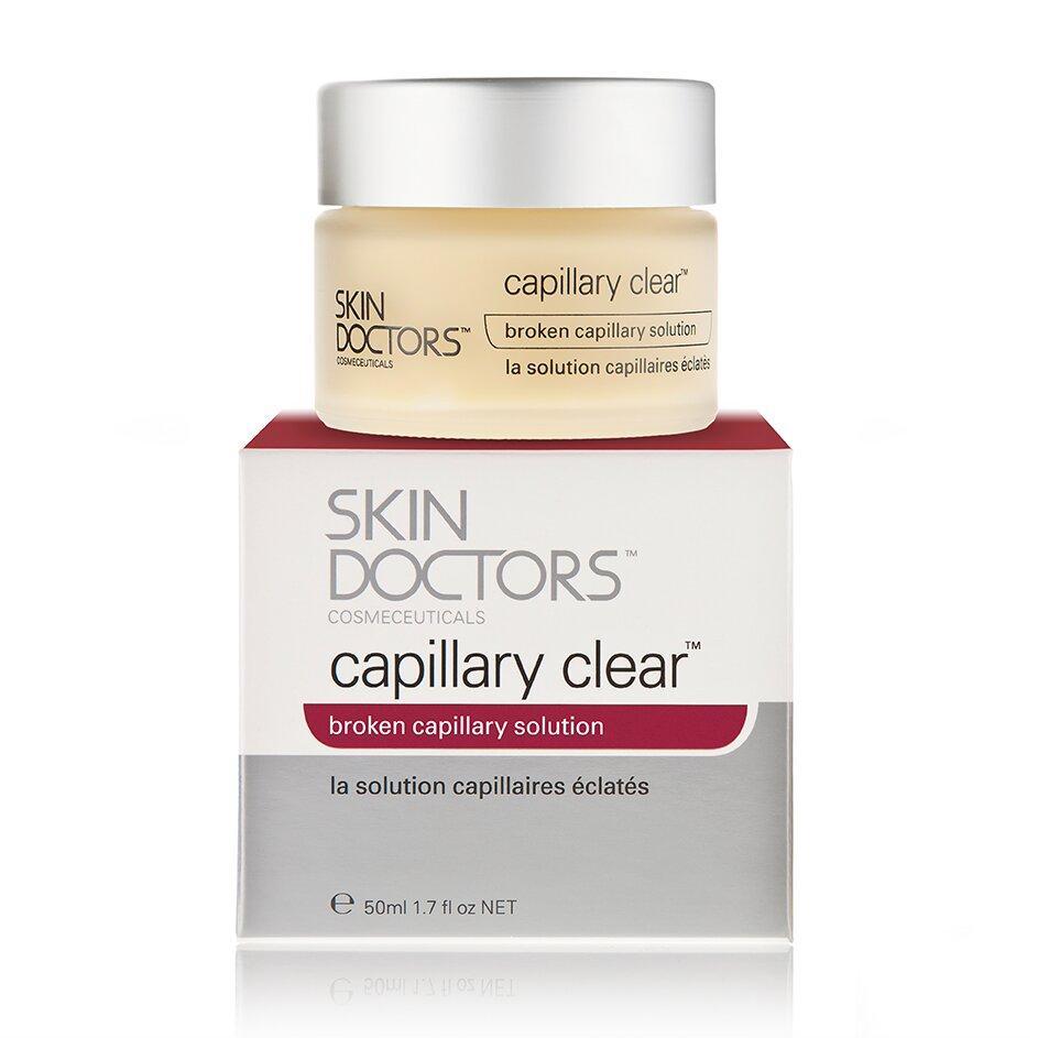 Крем для кожи лица с проявлениями купероза Capillary Clear, Skin Doctors (Австралия)  - Купить