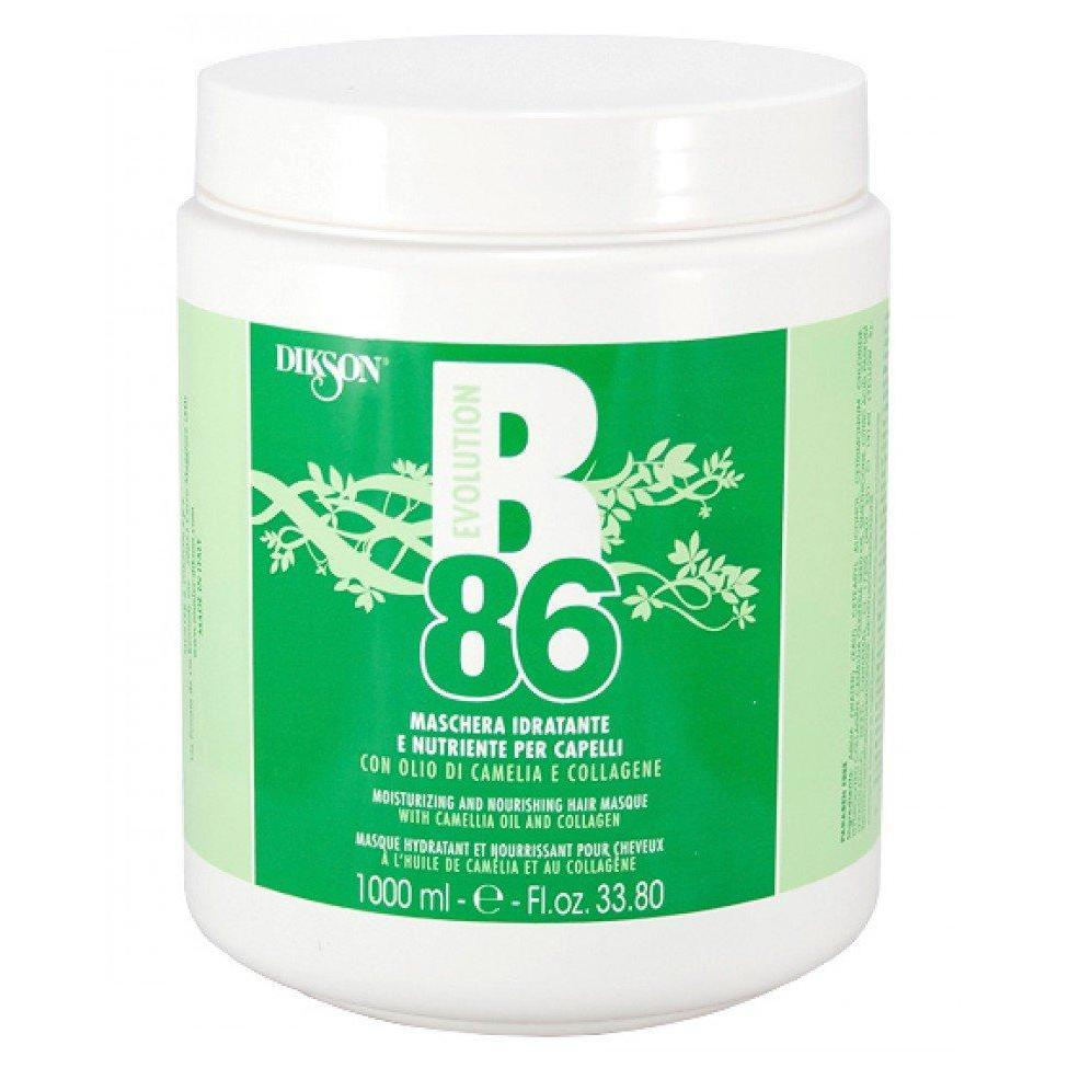 Увлажняющая питательная маска Moistruzing and nourishing hair B86 Dikson