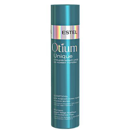Купить Шампунь для жирной кожи головы и сухих волос Otium Unique, Estel (Россия)